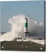 Lake Michigan Wave Acrylic Print