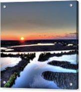 Lake Poygan Sunset Acrylic Print