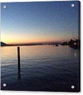 Lake Zurich At Sunset Acrylic Print