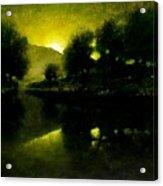 Lakeside Sunset Acrylic Print