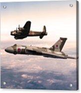 Lancaster And Vulcan Acrylic Print