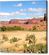 Land Of Canyons Acrylic Print