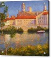 Landscape At Arles France Acrylic Print