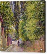 Landscape Near Louveciennes Acrylic Print