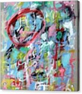 Large Abstract No 5 Acrylic Print