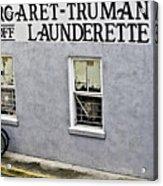 Launderette Acrylic Print