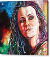 Laura Jane Grace Acrylic Print