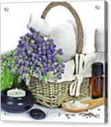 Lavender Spa Acrylic Print