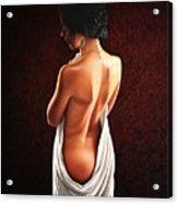 Lavish Calla Acrylic Print by Horacio Cardozo