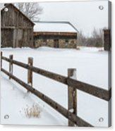 Lawr Farm Acrylic Print