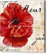 Le Pavot  Acrylic Print