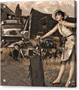 Leaving Home For Good..... Acrylic Print