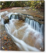Ledge Brook - White Mountains New Hampshire Usa Acrylic Print by Erin Paul Donovan