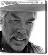 Lee Marvin Monte Walsh Set Old Tucson Arizona 1969-2008 Acrylic Print