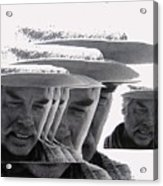 Lee Marvin Monte Walsh Variation 2 Old Tucson Arizona 1969-2012 Acrylic Print