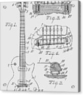 Les Paul  Guitar Patent From 1955 Acrylic Print