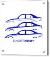 Lexury Silhouettehistory Acrylic Print