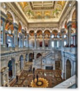 Library Of Congress Acrylic Print