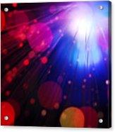 Light Burst-4 Acrylic Print