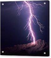 Lightning Over Tucson Acrylic Print
