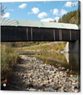 Lincoln Covered Bridge Acrylic Print
