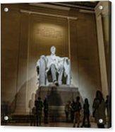 Lincoln Statue Acrylic Print