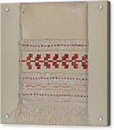 Linen Towel Acrylic Print