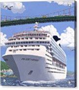 Lions Gate Bon Voyage Acrylic Print by Neil Woodward