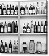 Liquor Bottles Acrylic Print