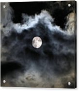 Lisas Wildlife Moons 2 Acrylic Print