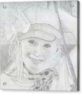 Little Girl Acrylic Print