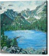 Little Grand Lake Acrylic Print