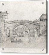 Liverpool Bridge Acrylic Print
