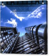 Lloyd's Of London And Cheese Grater Acrylic Print