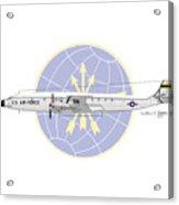 Lockheed C-121c Constellation Acrylic Print