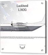 Lockheed L382g Acrylic Print