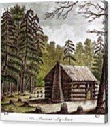 Log Cabin, 1826 Acrylic Print