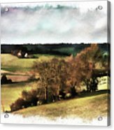 Loire Valley Acrylic Print