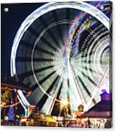 London Christmas Markets 16 Acrylic Print