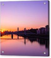 London Sunrise  Acrylic Print