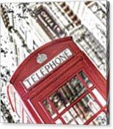 London Telephone 3b Acrylic Print