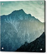 Lone Pine Peak Acrylic Print