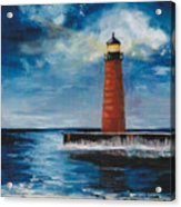 Lonely Beacon Acrylic Print