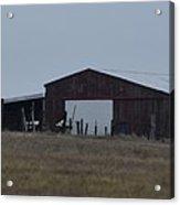 Lonesome Barn 2 Acrylic Print