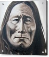 Long Bear Acrylic Print