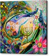 Longing For Chagall Acrylic Print