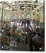 Looff Carousel Santa Cruz Boardwalk Acrylic Print