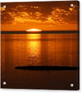 Looking For The Green Flash Acrylic Print
