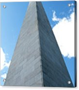 Looking Up At Bunker Hill Acrylic Print