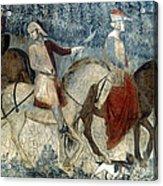 Lorenzetti: Good Govt Acrylic Print